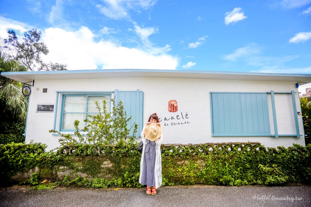 沖繩浦添 港川外人住宅HOUKIBOSHI(ほうき星).八種獨特滋味的黑糖可麗露!
