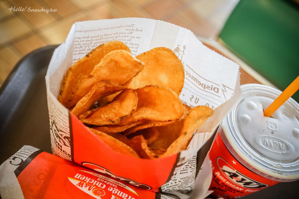 沖繩美食,A&W漢堡速食餐廳,沖繩打卡點,沖繩美式餐廳