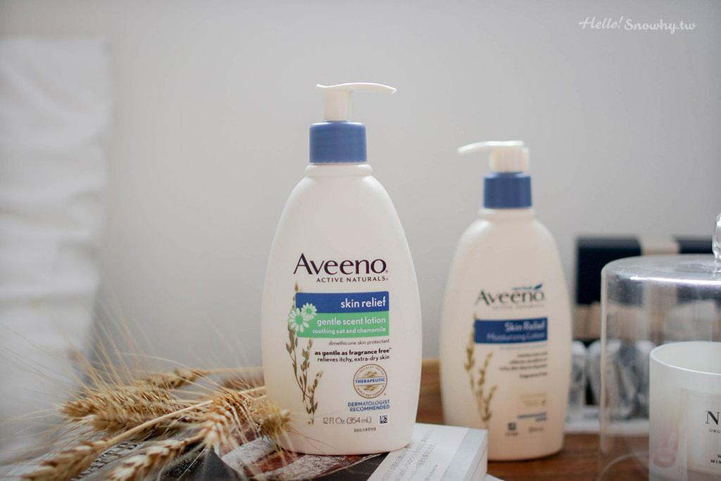 Aveeno艾惟諾,艾惟諾洋甘菊,燕麥高效舒緩系列,乳霜,乳液,保養