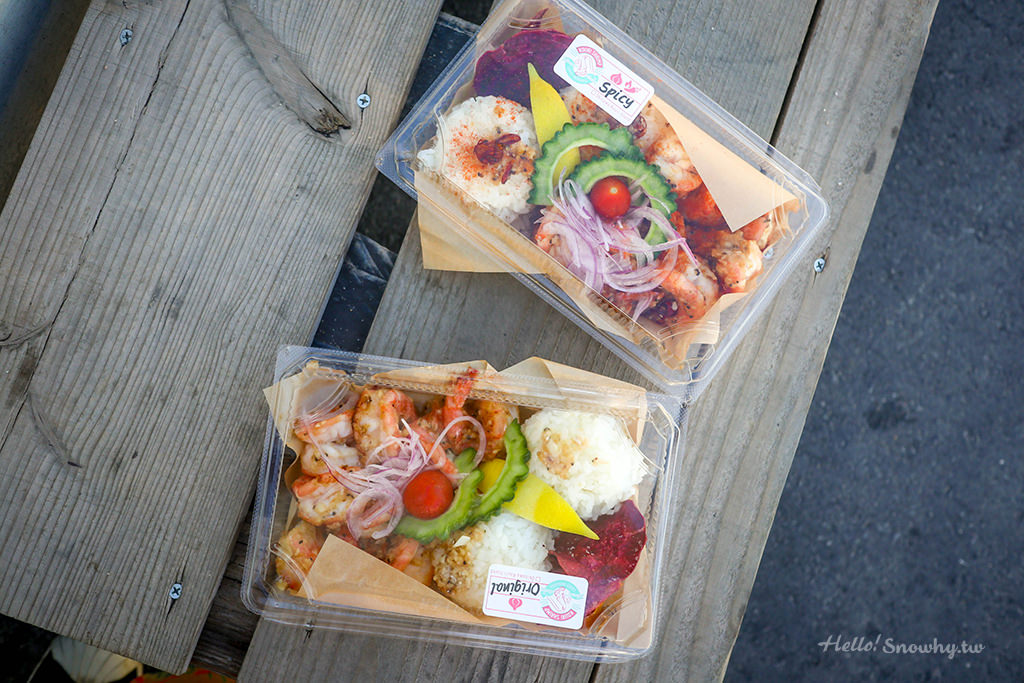 沖繩美食,古宇利蝦餐車,蝦蝦飯,古宇利蝦蝦飯,Shrimp Wagon,Kouri Shrimp,沖繩自由行