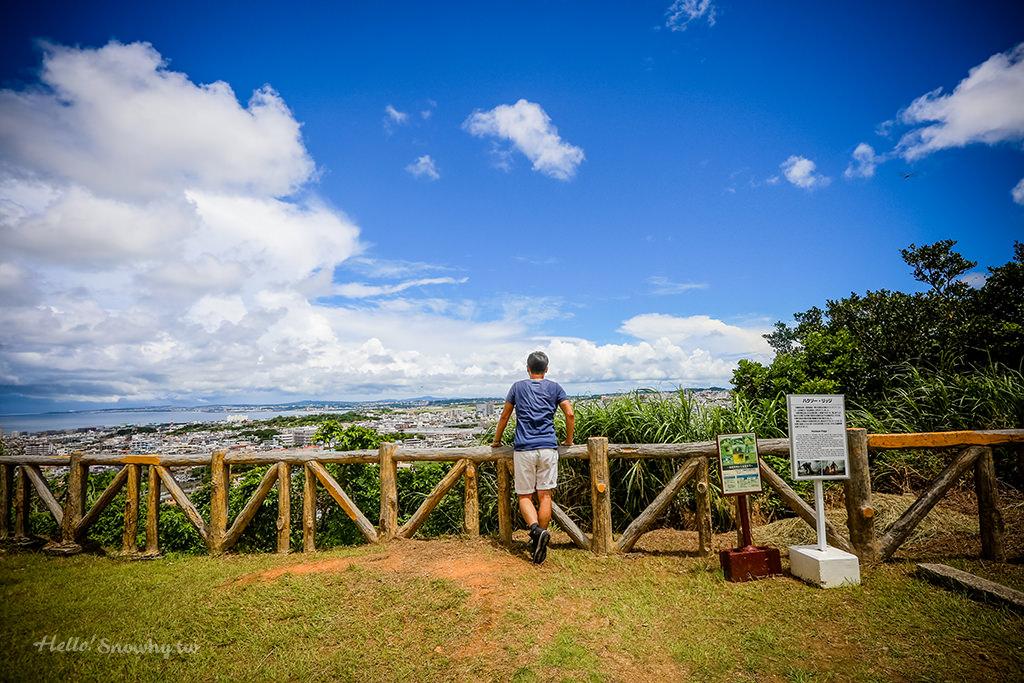 浦添大公園內的歷史景點 | 浦添城跡、極樂陵與電影鋼鐵英雄的前田高地
