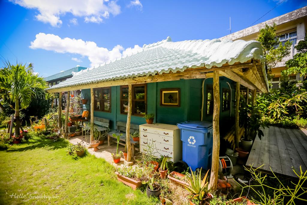 沖繩美食,CALiN,生活選物,輕食咖啡館,島甜甜圈,屋我地島