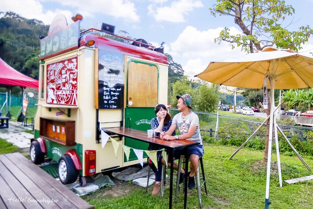 桃園大溪 GOGOBOX餐車誌in樂灣基地 | 美式餐車下午茶、草地野餐公園打卡景點