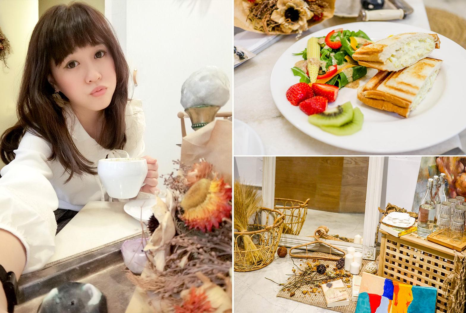 台北中山站,中山站咖啡廳,走進屋子裡,House go in,韓系咖啡廳,甜點下午茶,熱門打卡點,捷運站美食