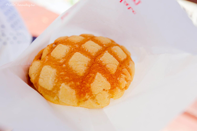 沖繩瀨底島,沖繩美食,Mokupuni,超好吃菠蘿麵包,巨大原味菠蘿麵包,菠蘿脆餅聖代,沖繩必買
