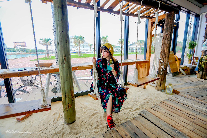 沖繩必去網美咖啡廳 The Junglila Cafe and Restaurant | 夕陽海景、有鞦韆帳篷的咖啡廳、沖繩IG熱門咖啡廳(內含菜單)