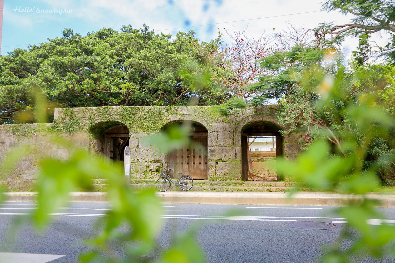 沖繩景點,舊崇元寺石門,琉球王國國廟遺址,電車牧志站一日遊景點,市區景點,古蹟,沖繩歷史遺跡