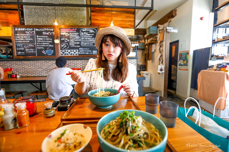 沖繩美食,OKINAWA SOBA EIBUN,沖繩麵,在地人推薦,藍碗沖繩麵,沖繩そば,沖繩蕎麥麵,沖繩市區美食,沖繩那霸美食
