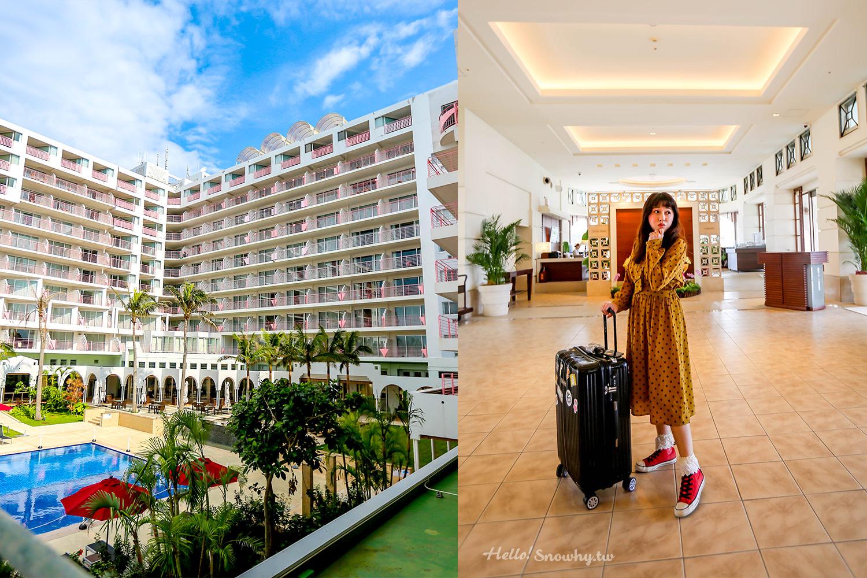 沖繩住宿 | MAHAINA馬海納健康度假酒店.平價海景親子飯店、近美麗海水族館