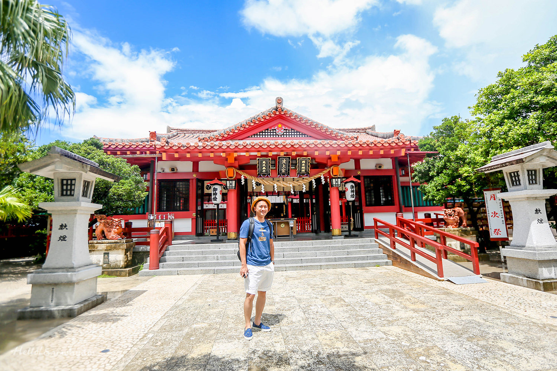 沖繩景點 波上宮,琉球八社之一 | 崖上神社與離那霸市區最近的波之上海灘