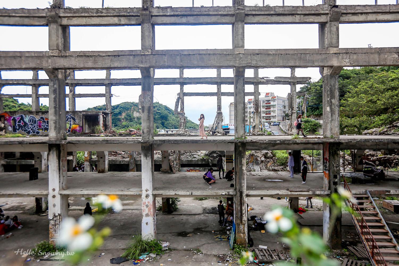 基隆景點 | 阿根納造船廠歷史遺構.不是廢墟而是百年歷史遺跡(彩色正濱漁港附近)