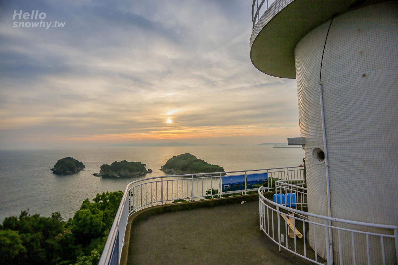 雑賀崎燈塔 | 和歌山市奧和歌浦的斷崖上眺望紀伊水道的美麗海景與夕陽