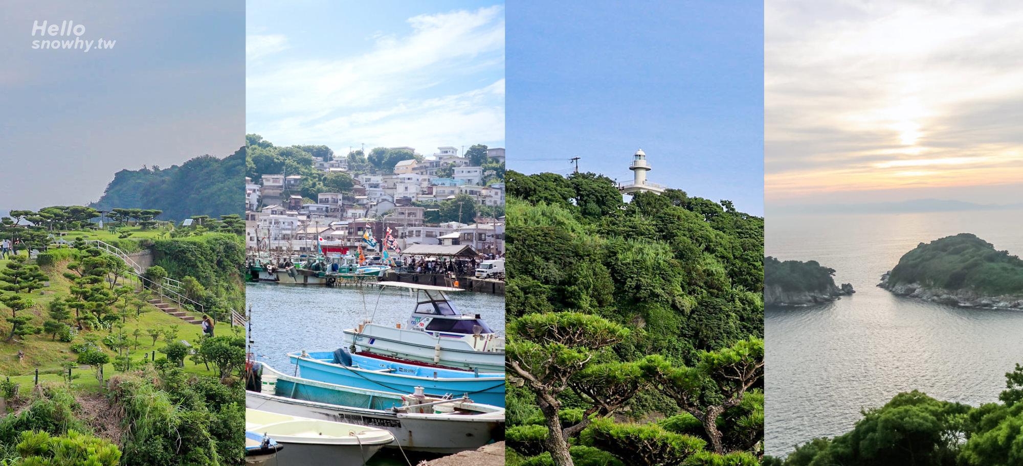 和歌山 奧和歌浦 雜賀崎半日遊、雜賀崎景點 | 雜賀崎漁港、番所庭園、雜賀崎燈塔、漁港咖啡廳