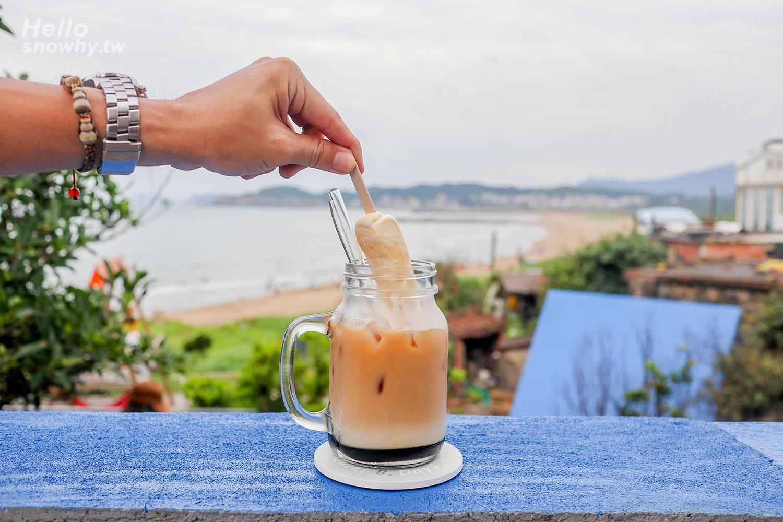 新北金山,Q.B.Days,靠北過日子,海邊藍色小屋,露營景觀咖啡廳,北海岸咖啡廳,北海岸景點,金山咖啡廳,金山海邊,金山景點,北海岸金山