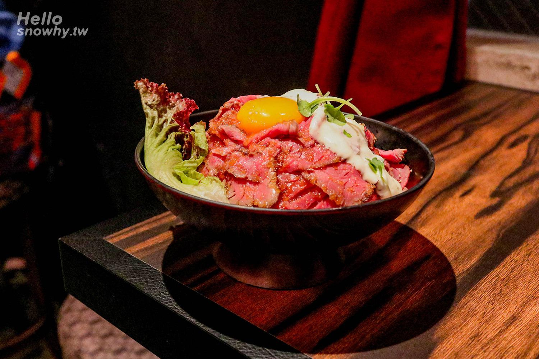 大阪美食 | 大阪美國村Red Rock.平價大份量超人氣烤牛肉丼飯、牛排蓋飯