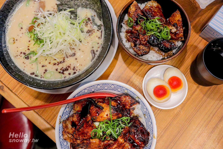 大阪美食,らーめん天地人拉麵,燒肉丼,黑門市場美食,必吃燒肉丼,大阪必吃,大阪打卡,天地人