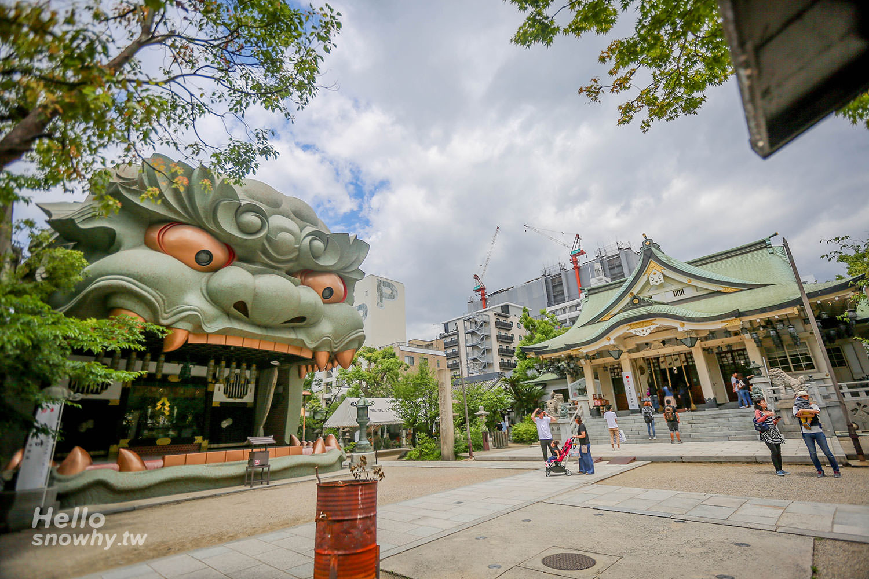 大阪景點,難波八阪神社,獅子殿,獅子神社,大阪自由行,大阪難波八阪神社,八阪神社,獅子