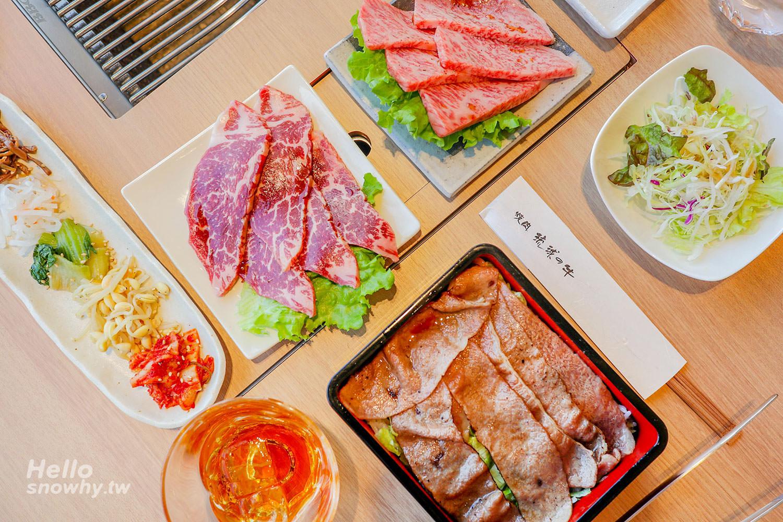 沖繩必吃燒肉 琉球の牛 國際通店   午間套餐最划算,夢幻滋味的單點和牛