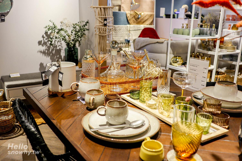 台北,居家選物,北歐家具,Bloomingville,台北咖啡廳,瑪黑家居選物,P&T柏林茶館,雜貨選物店,台北下午茶,台北歐陸餐廳