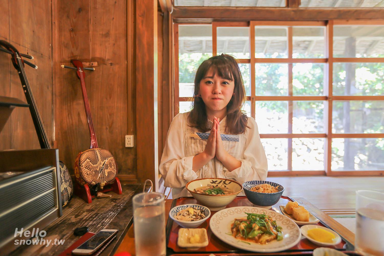 沖繩美食,浜比嘉島,古民家食堂,てぃーらぶい,Teirabui,琉球傳統料理,中文菜單,沖繩古民家,浜比嘉島美食