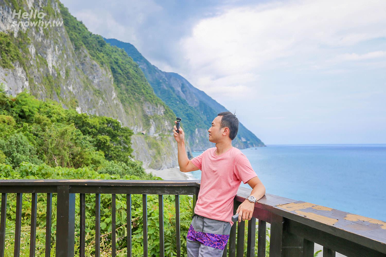 花蓮景點 清水斷崖 | 由崇德休憩區遠眺優美海岸線、台灣十景