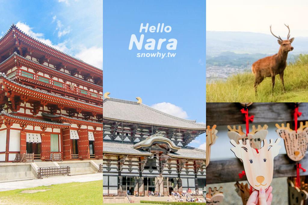 奈良自由行這樣玩!奈良1日遊/2日遊行程、交通票券、奈良必去景點、奈良餵鹿注意事項、住宿美食懶人包