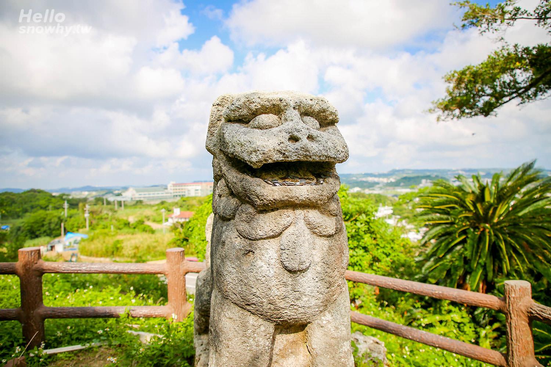 沖繩熱門景點,沖繩景點,富盛石彫大獅子,沖繩石獅子,沖繩古蹟景點,沖繩歷史景點,沖繩冷門景點,沖繩守護神,沖繩自由行,沖繩南部,沖繩八重瀨町,沖繩南部景點