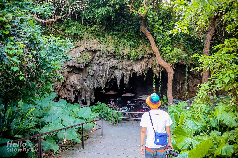 沖繩景點 Valley Of Gangala(ガンガラーの谷)、鐘乳石洞穴咖啡廳 Cave Cafe(山谷預約導覽)
