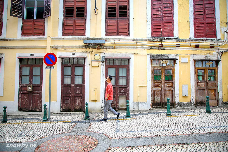 澳門景點 | 藝術文創聚集的瘋堂斜巷(仁慈堂婆仔屋、大瘋堂藝舍),散步在葡國石仔路上