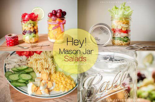 梅森罐食譜,Mason Jar salads ,玻璃罐沙拉食譜,Ball儲物罐,梅森罐