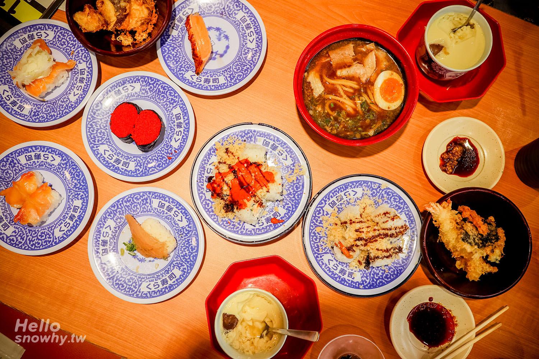 桃園美食,中壢美食,くら寿司,藏壽司,中壢大江美食,日本人氣迴轉壽司,迴轉壽司