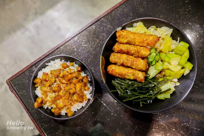 新北美食,林口美食,金仙魯肉飯,金仙蝦捲飯,鉑金食堂,超人氣魯肉飯,35年老店,松山路魯肉飯
