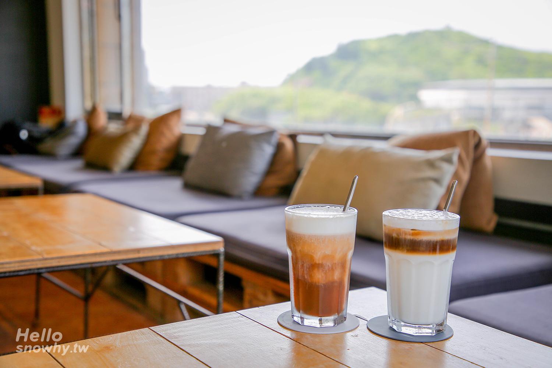 新北萬里,一粒沙咖啡館,Elisa coffee,海景咖啡廳,野柳女王,景觀咖啡廳,野柳地質公園,駱駝峰,野柳九池孔,新北咖啡廳,新北景點,萬里景點,繡球花田