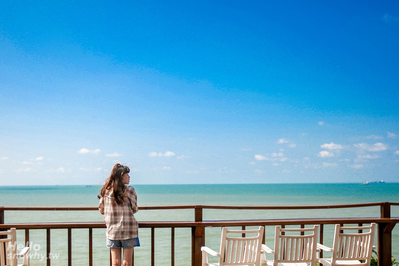 新北林口,林口海景咖啡廳,藍色公路海景咖啡館,看海咖啡廳,新北咖啡廳,新北景點,林口景點
