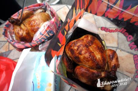 日記 | 烤雞的愉快用餐