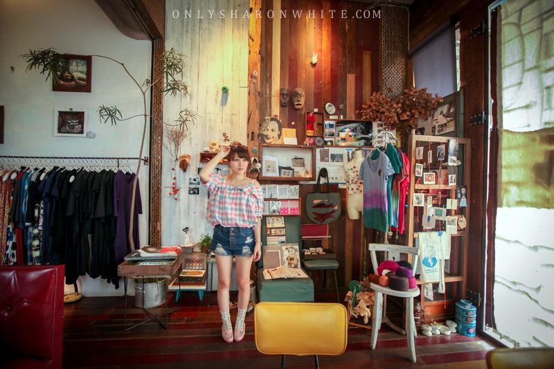 嘉義 | BLESS .咖啡 花茶 衣飾 金工~擁有獨特風味的藝術家隱密小店 (創意飲品:炭烤地瓜奶昔)