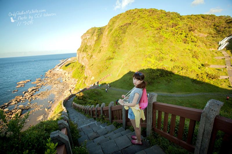 基隆 | 望幽谷稜線濱海步道.走過翠綠V型谷地~遠望湛藍的海水!!足以讓人忘卻憂愁的自然美景!!