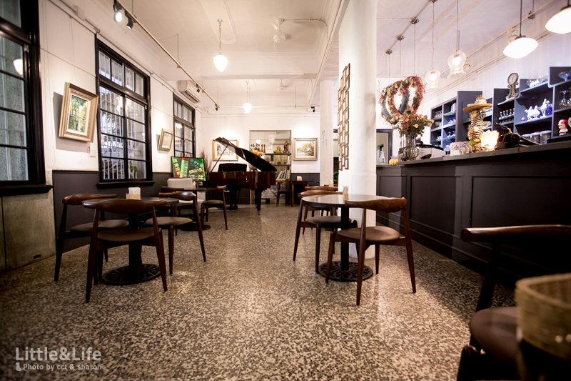 桃園 | 老診所咖啡館.八塊畫室裡的美食享宴 (二訪)