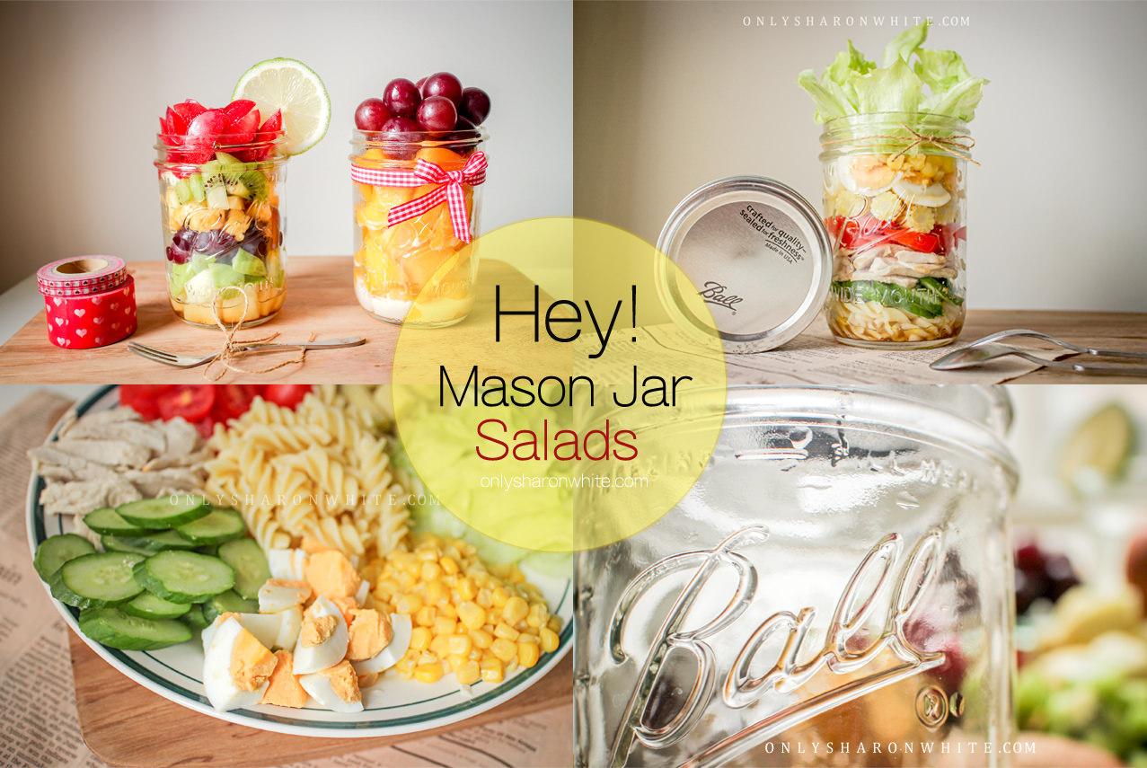【超簡單食譜】Mason Jar salads 玻璃罐沙拉食譜~歐美新風潮♥美味視覺雙享受(Ball儲物罐/梅森罐)