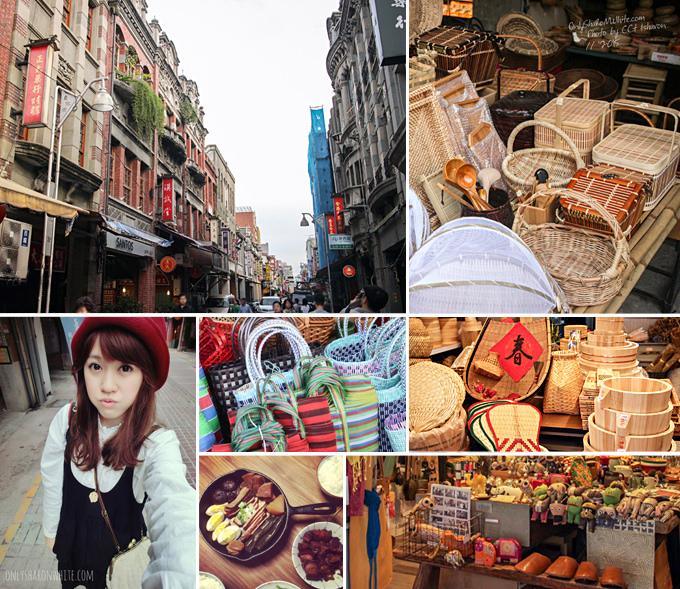 迪化街,台北雜貨,平價木器