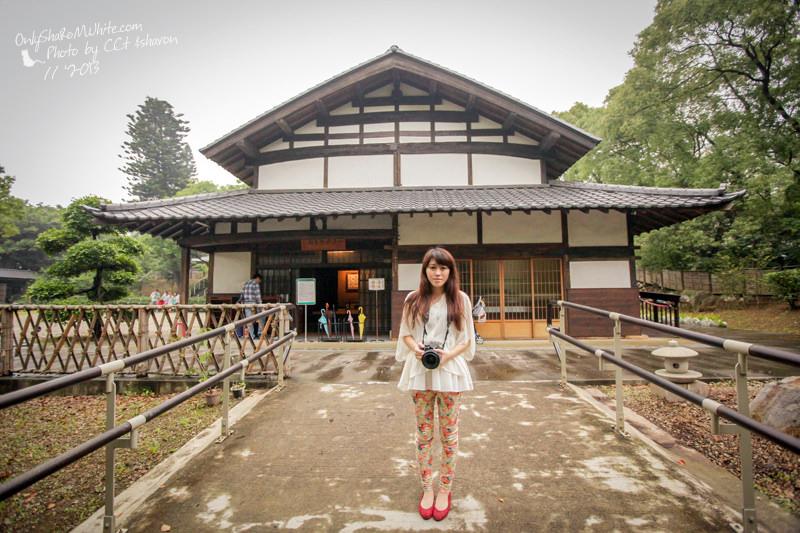 淡水 | 一滴水紀念館.淡水和平公園.日式建築原貌重現!! (偶像劇拍攝景點)