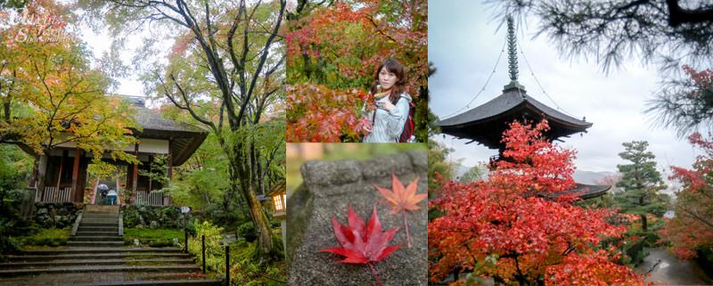 嵐山,常寂光寺,多宝塔,日本,京都,景點