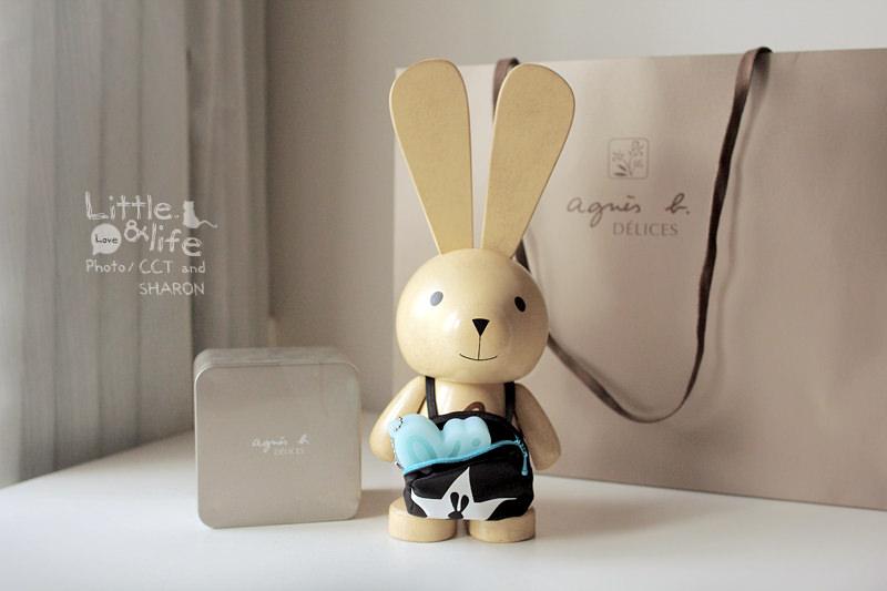 分享 | agnes b. CAFE L.P.G. 木質Q版小兔中秋禮盒 (限量)