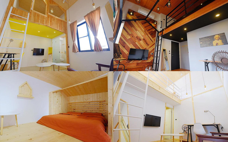 Loft-Wo-Design-Inn 閣樓x旅宿