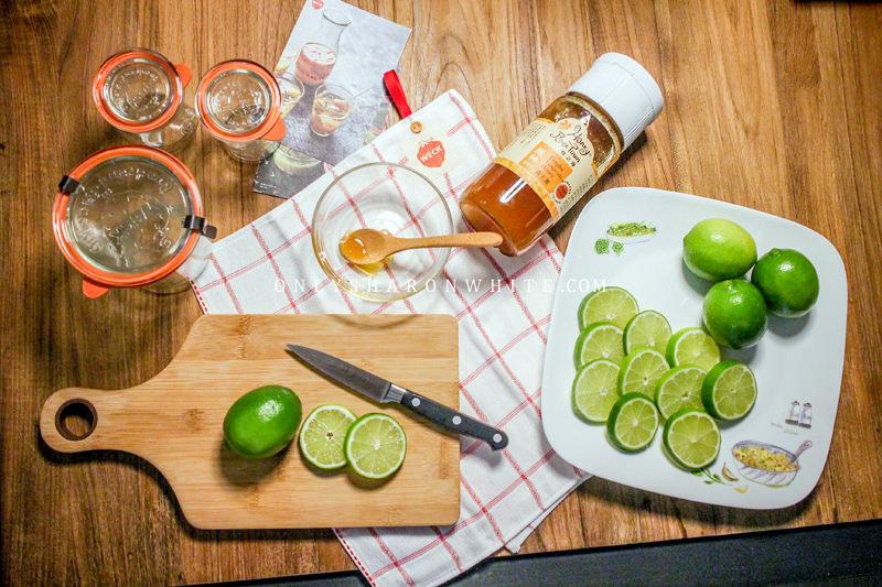 【超簡單食譜】夏季消暑聖品蜂蜜漬檸檬手作時光.給另一半的愛情特調