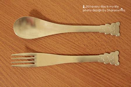 懶懶熊~湯匙、叉子