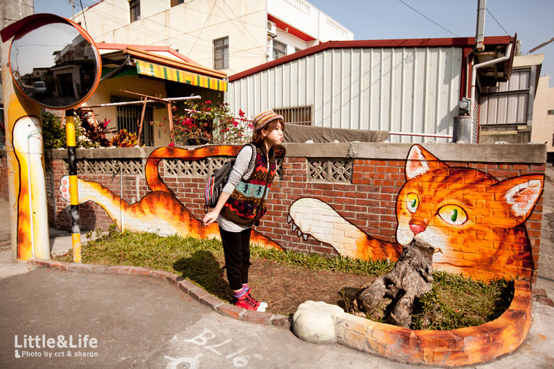 雲林 | 頂溪社區.「屋頂上的貓」3D 繪本彩繪村