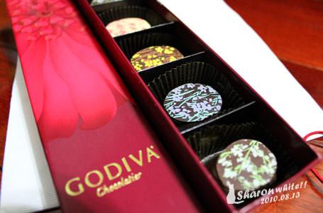 日記   GODIVA巧克力